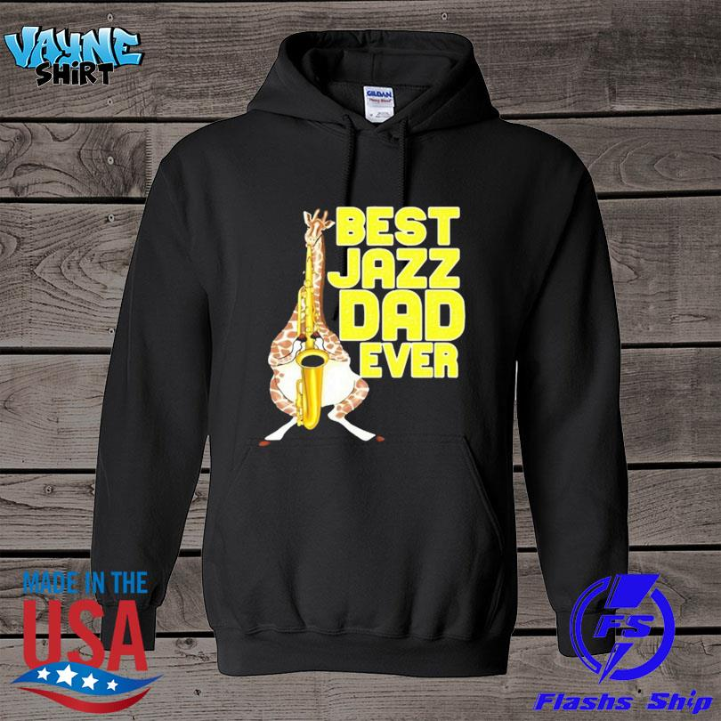 Merchpole best jazz dad saxophone fathers day s hoodie