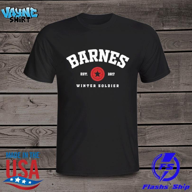 Official Barnes Est 1917 winter soldier shirt