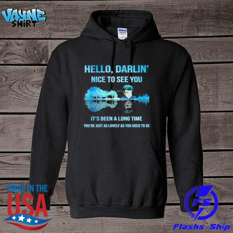 Official Conway twitty hello darlin' nice to see you guitar lake s hoodie