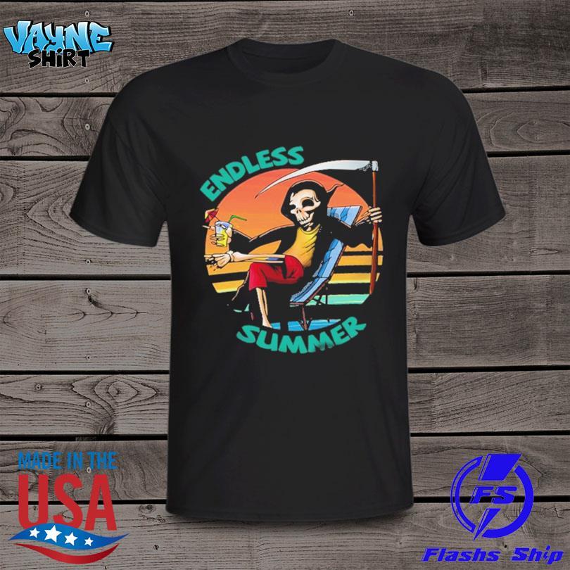 Official Death beach endless summer vacation vintage shirt
