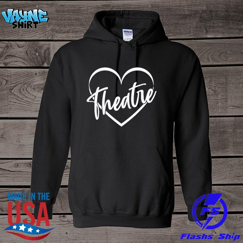 Official Drama teacher broadway theater theatre thespian acting s hoodie