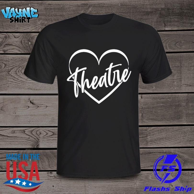 Official Drama teacher broadway theater theatre thespian acting shirt