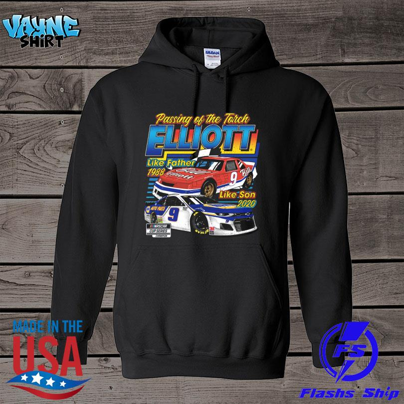 Official Passing of the torch elliott like father 1988 like son 2020 s hoodie