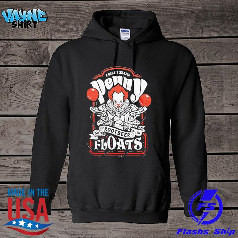 Official Pennywise Root Beer Floats Distressed Design s hoodie