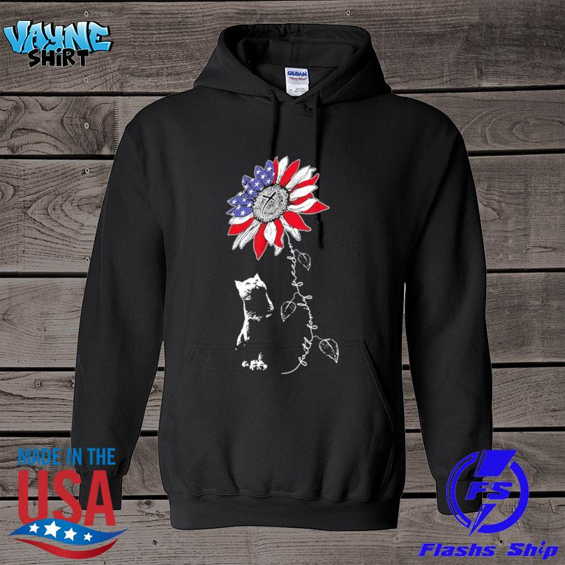 Official Sunflower 4th of july patriotic faith family freedom s hoodie