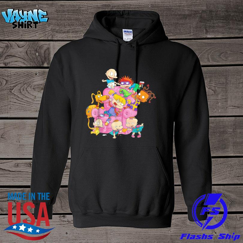 Official The rugrats group couch s hoodie