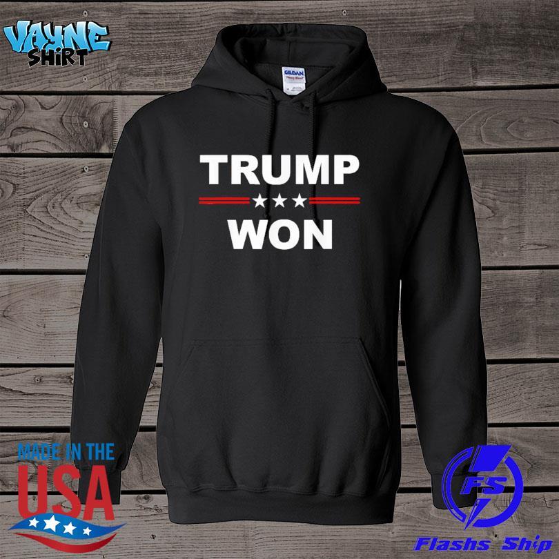 Official Trump won s hoodie
