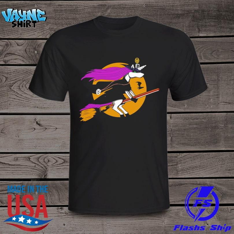 Official Unicorn Witch Halloween shirt