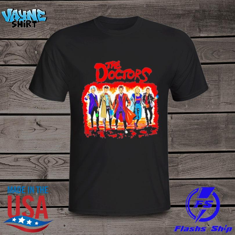 Official The doctors who shirt