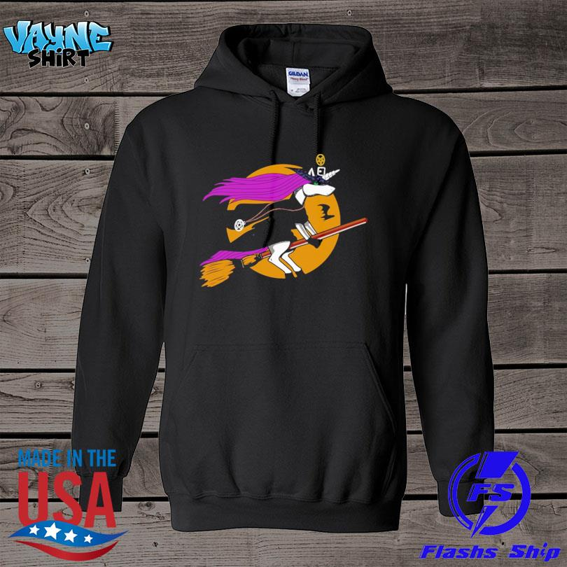 Official Unicorn Witch Halloween s hoodie