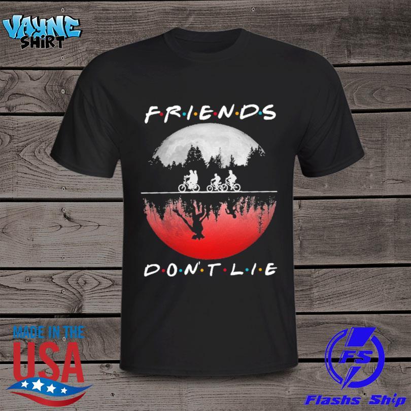 Stranger Things Friends Don't Lie Halloween 2021 Shirt