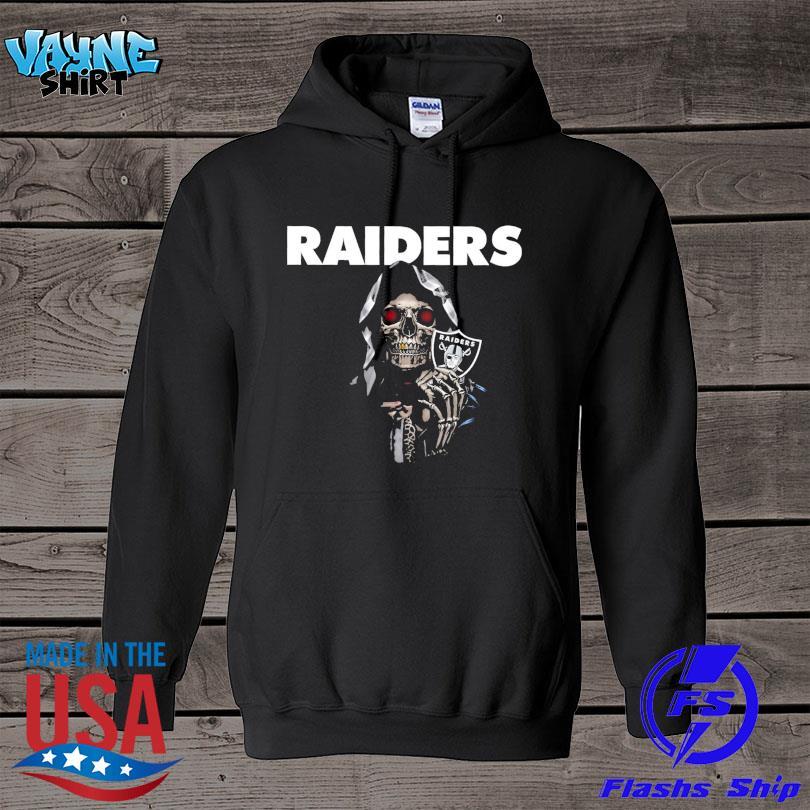 Death Oakland Raiders logo 2021 s hoodie