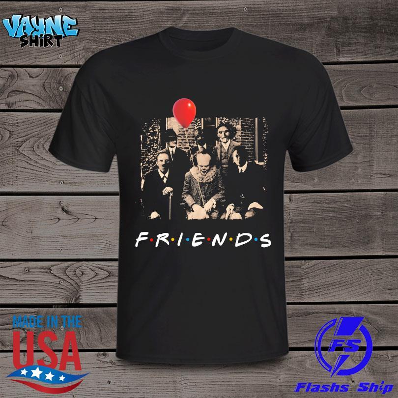 Horror Movie Characters Friends Halloween 2021 shirt