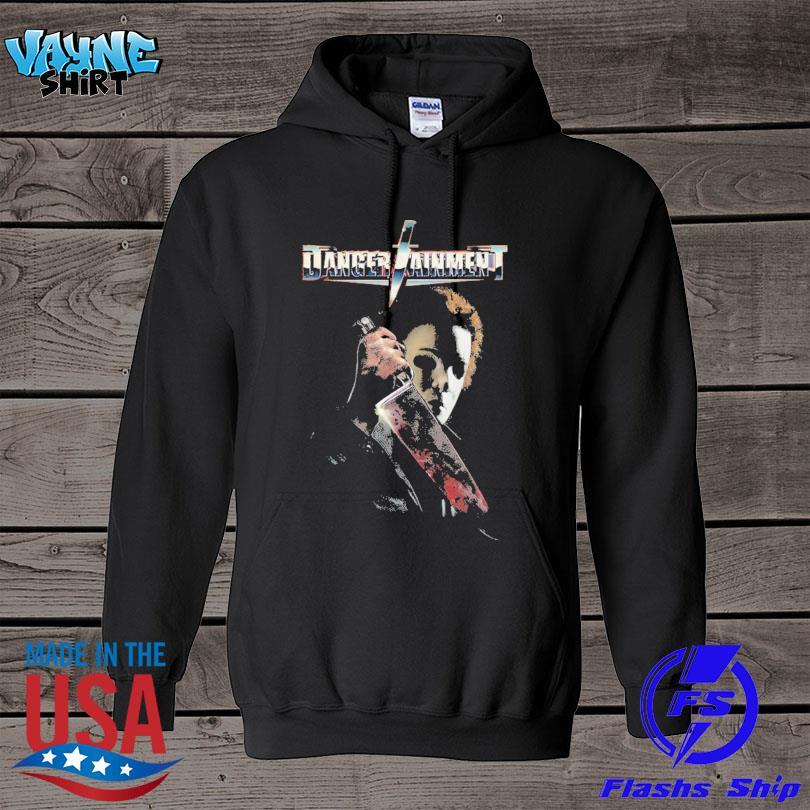 Michael Myers Danger Taiment Halloween s hoodie